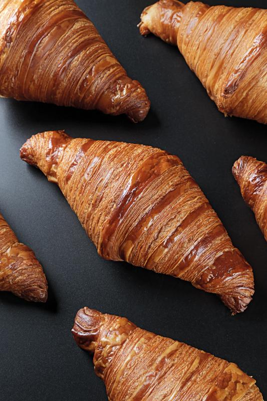 Croissant de andreu Sayó horneado