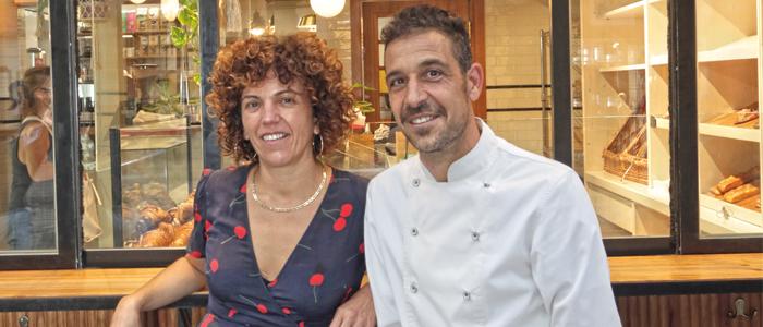 Oriol Rosell y Maria Vidal