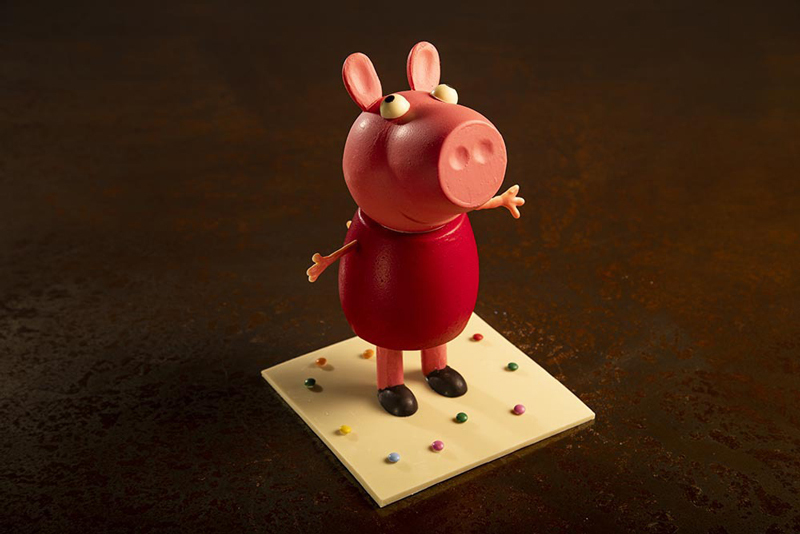 Peppa Pig de pascua de Josep Ramon Cuadras
