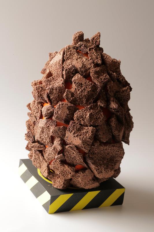 Rocas extraterrestres, huevo de pascua de Alberto Barrero