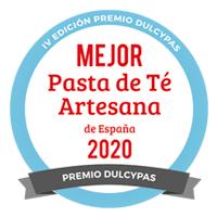 Premio Mejor Pasta de Té Artesana de España 2020