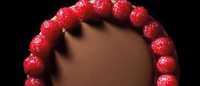 Sablé de frambuesa y chocolate de Paco Torreblanca