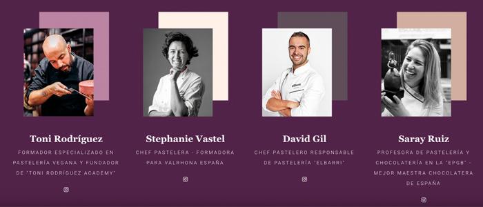 Ponentes de la cuarta edición de Sweethometalks: Toni Rodríguez, Stephanie Vastel, David Gil y Saray Ruiz