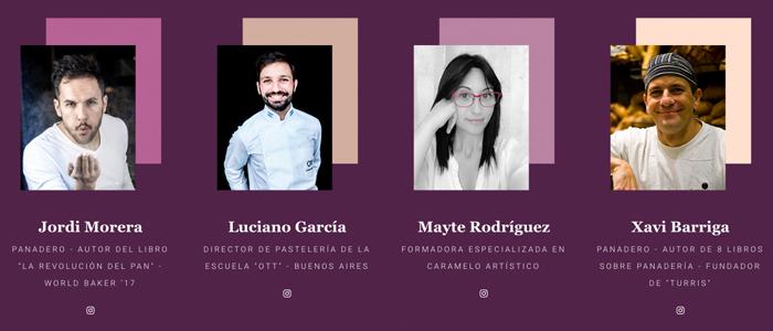 Ponentes de la segunda edición: Jordi Morera, Luciano García, Mayte Rodríguez y Xavier Barriga