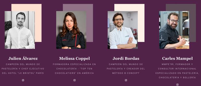 Algunos ponentes de la segunda edición: Julien Álvarez, Melissa Coppel, Jordi Bordas y Carles Mampel