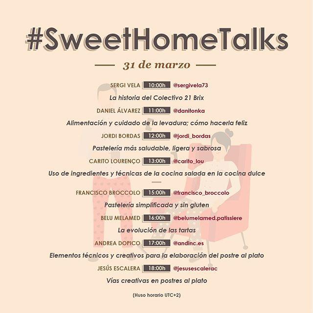 Cartel de la primera edición de Sweethometalks