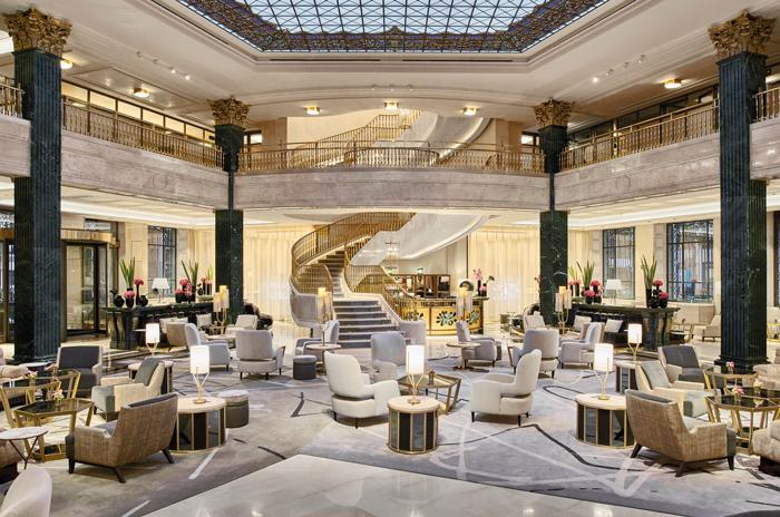 Lobby del Hotel Four Seasons