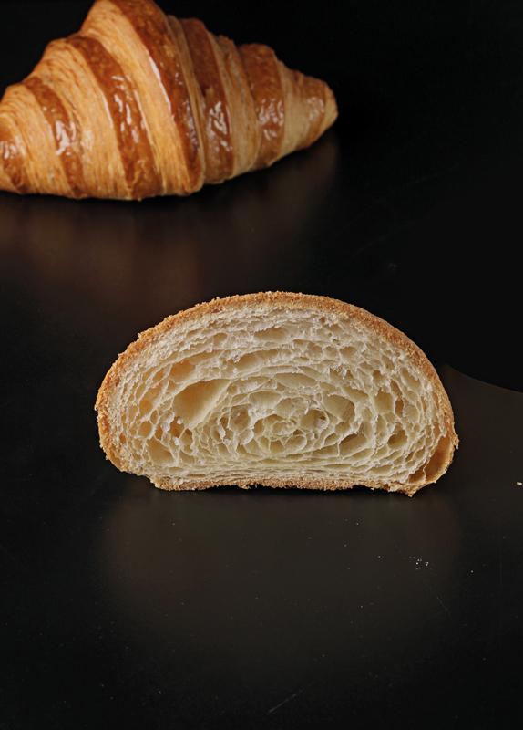 Corte de un croissant de Matthieu Atzenhoffer