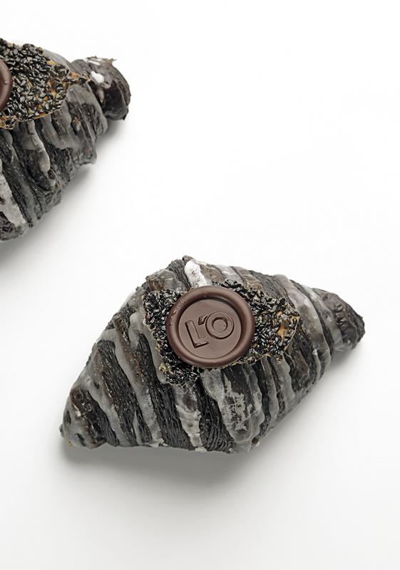 Croissant black sesame de Oriol Rossell