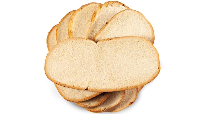 Rebanadas de pan de Cruz