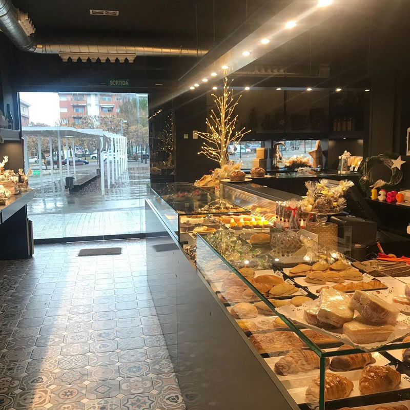 Entrada de la pastelería Muñoz