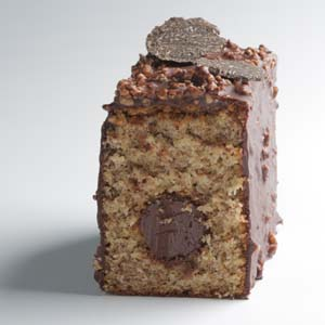 cake de avellana y trufa de EspaiSucre