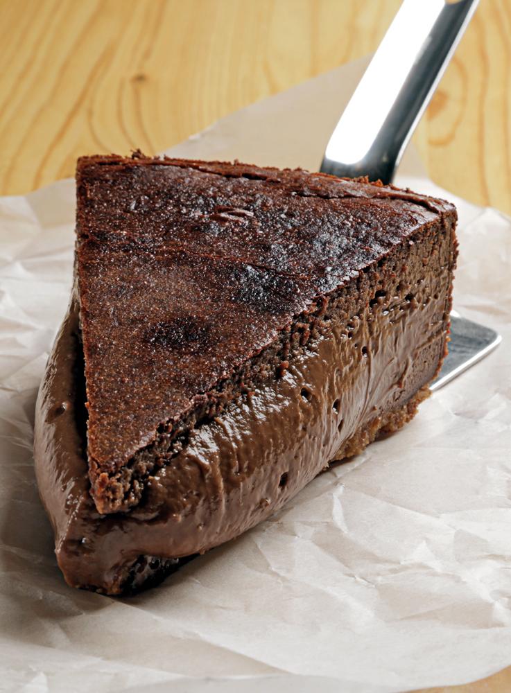 Cheesecake de chocolate de Jon García