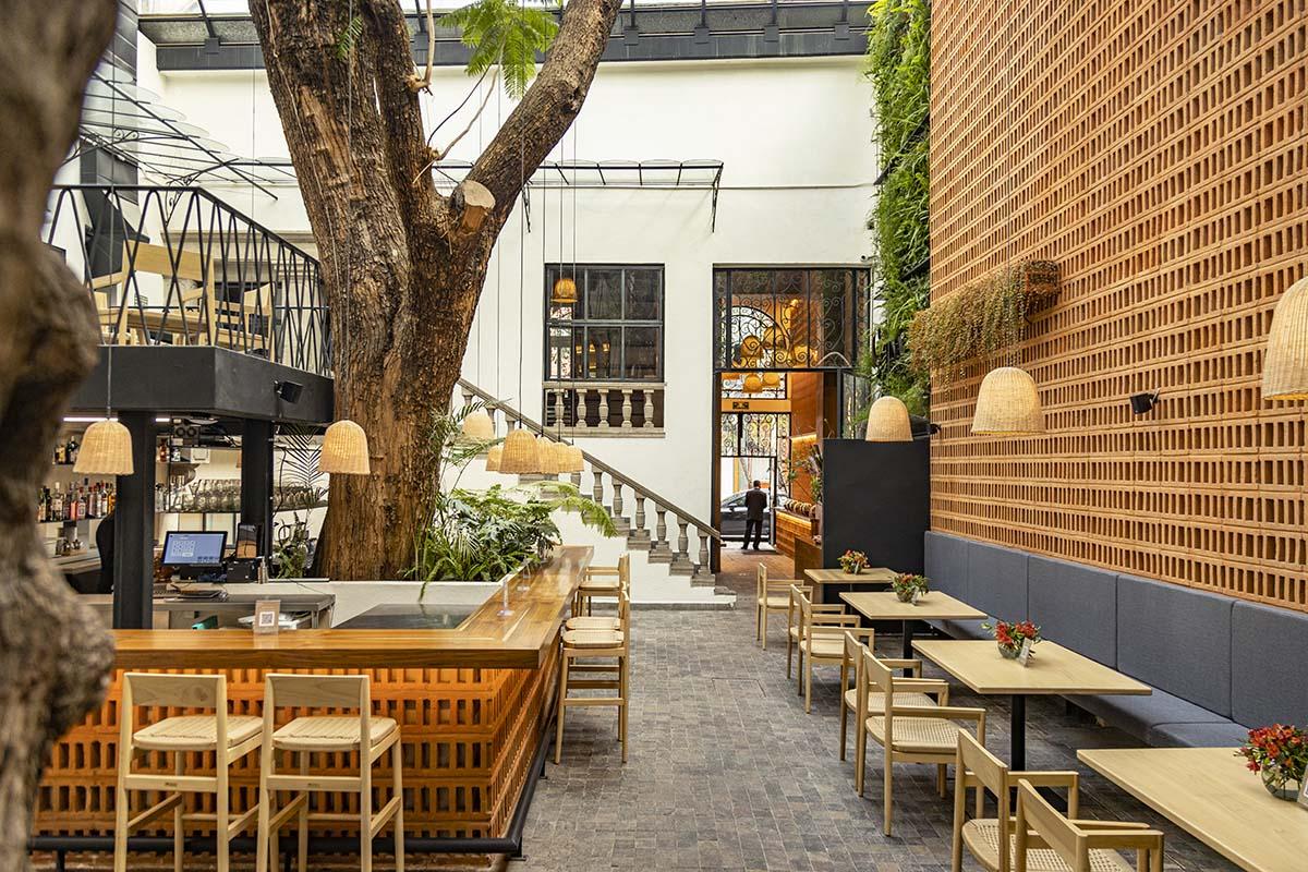 El espacio de Cuina Restaurant