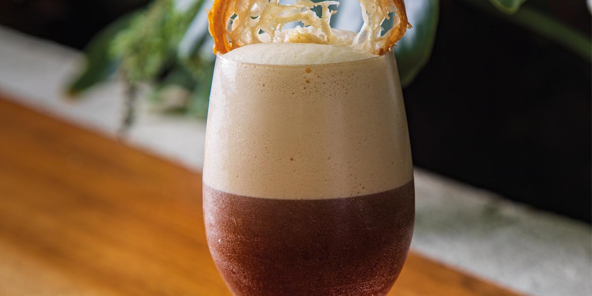 Cóctel espresso martini de Paulina Maldonado
