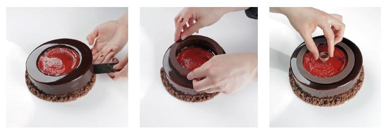 Segunda parte del montaje de la tarta de Laia Almirall