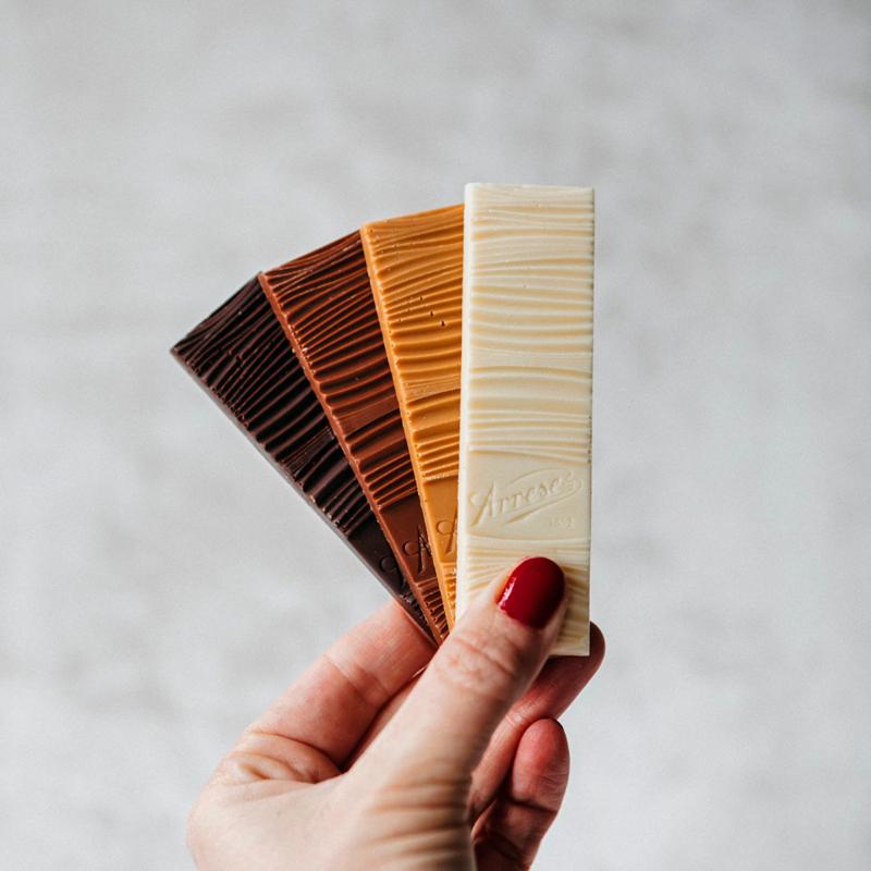 Tabletas de chocolate Arrese