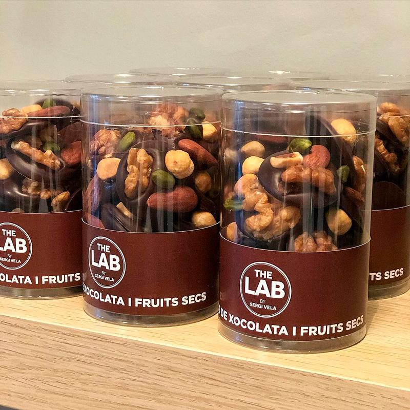 Chocolate con frutos secos de Sergi Vela