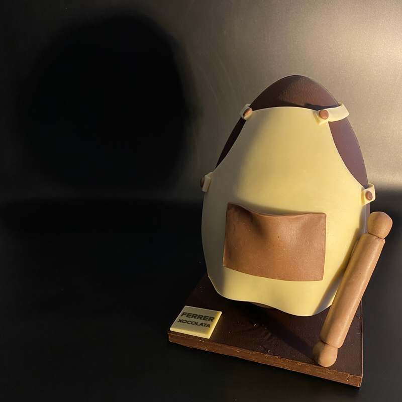 Mona de pascua Huevo pastelero de Jordi Ferrer