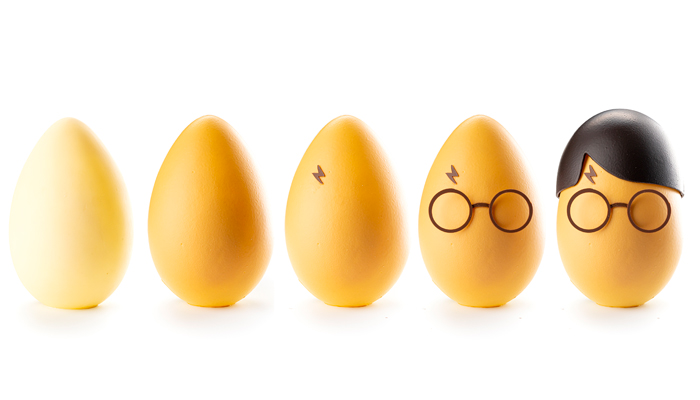 Huevo de pascua Harry Potter