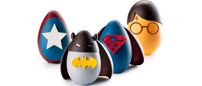 Colección de superhéroes de Pascua de Lluc Crusellas