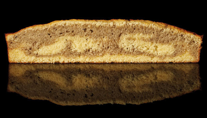 Cake afrutado de Luciano García