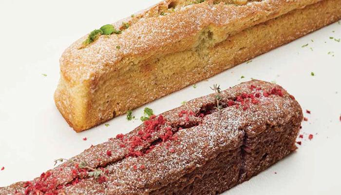 Cake de lima y cake de frambuesa de Belén Melamed