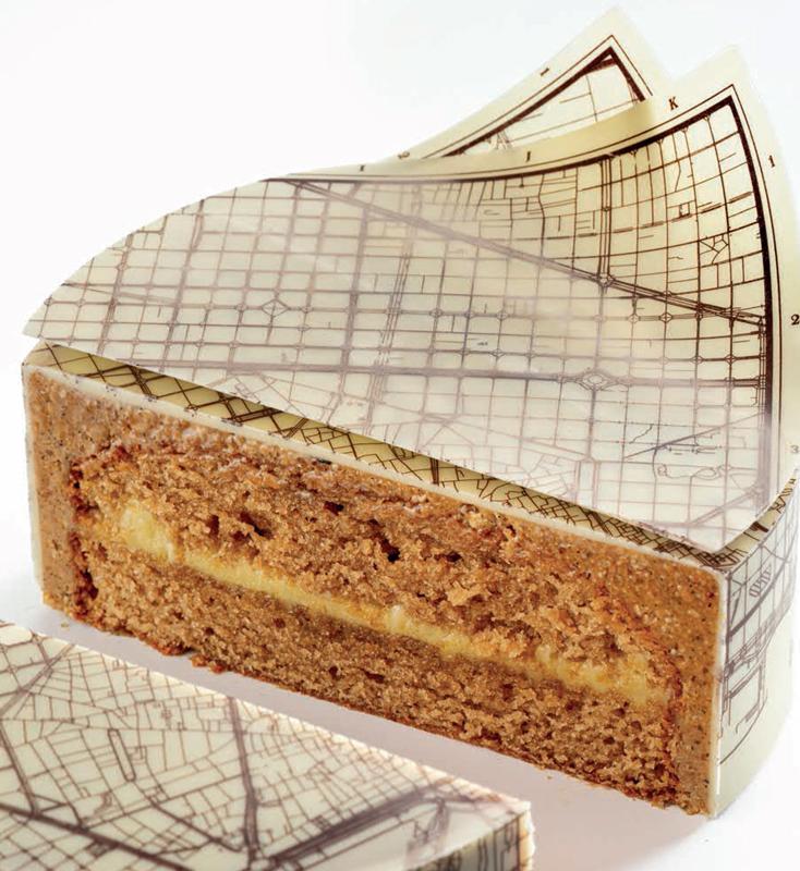 Corte del pastel de viaje de Enric Monzonís
