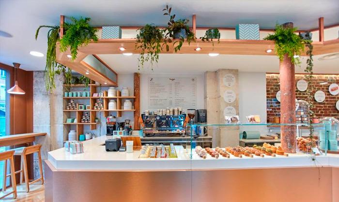 Primera tienda de Yann Couvreur en París