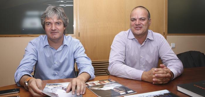 Grapebranding: Xavi Serra y Andrés del Pino