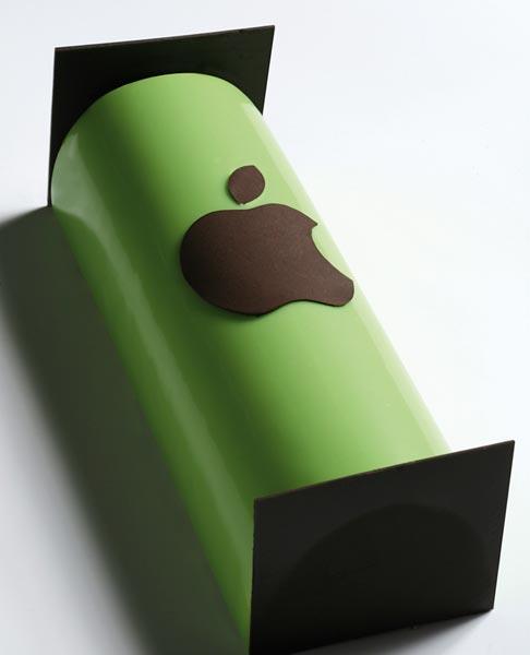 Tronco de navidad 'Sweet Apple', vista completa