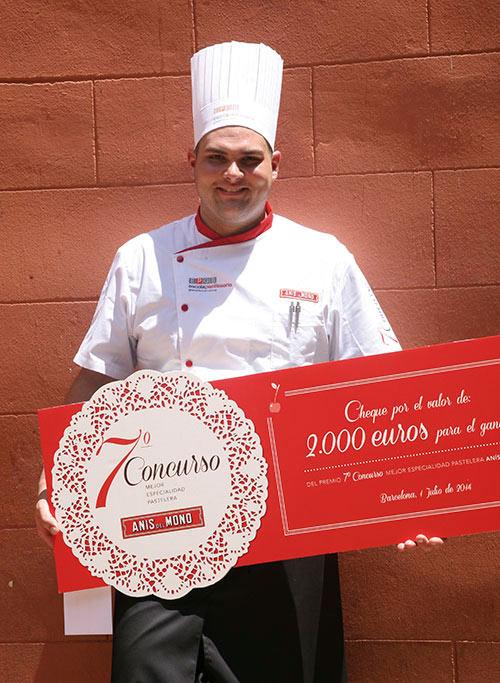 Anthony Rey, ganador Concurso Anís del Mono 2014