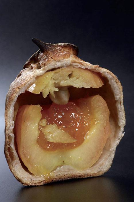 pan de mermelada y manzada de Josep Pascual