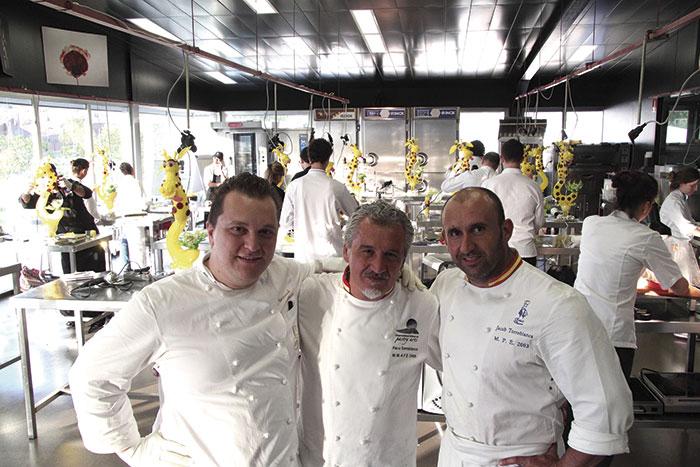 Paco Torreblanca, Jacobo Torreblanca y Emmanuele Forcone