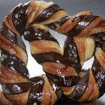 Bretzel de cacao