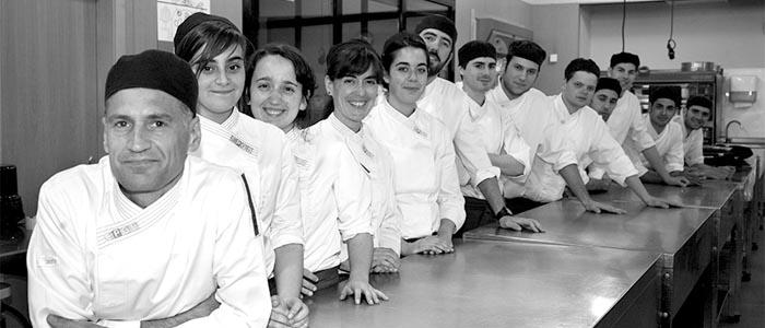Los alumnos de último curso de la EPGB (2014-15)