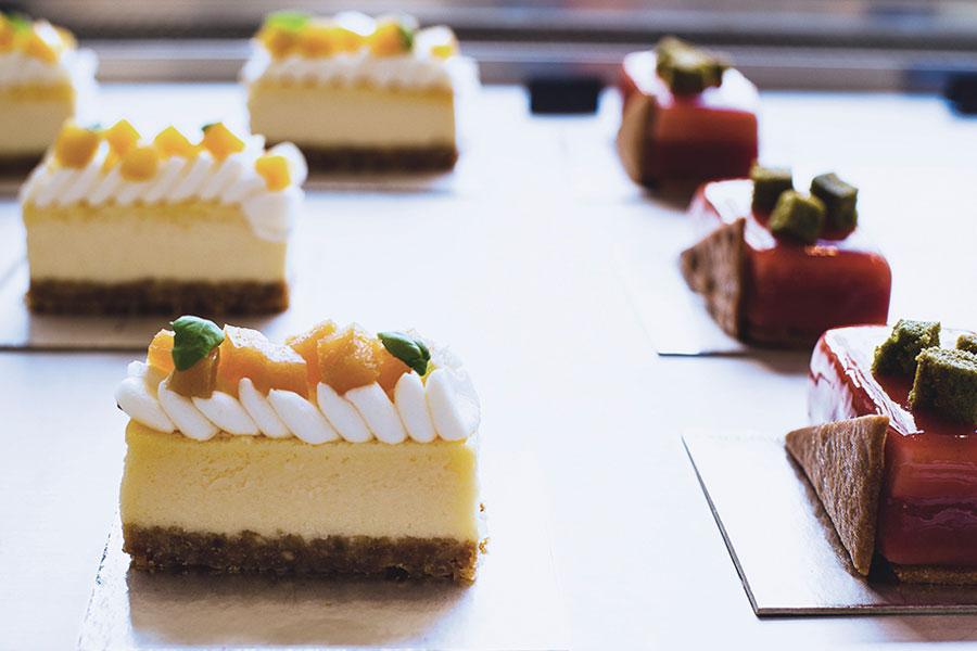 Creaciones pasteleras de Lluís Pérez