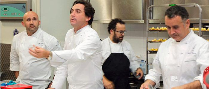 chefs españoles en seminario otoño Relais Desserts