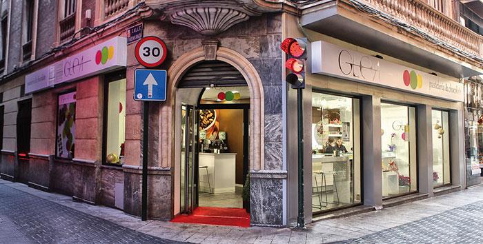 fachada pastelería Glea