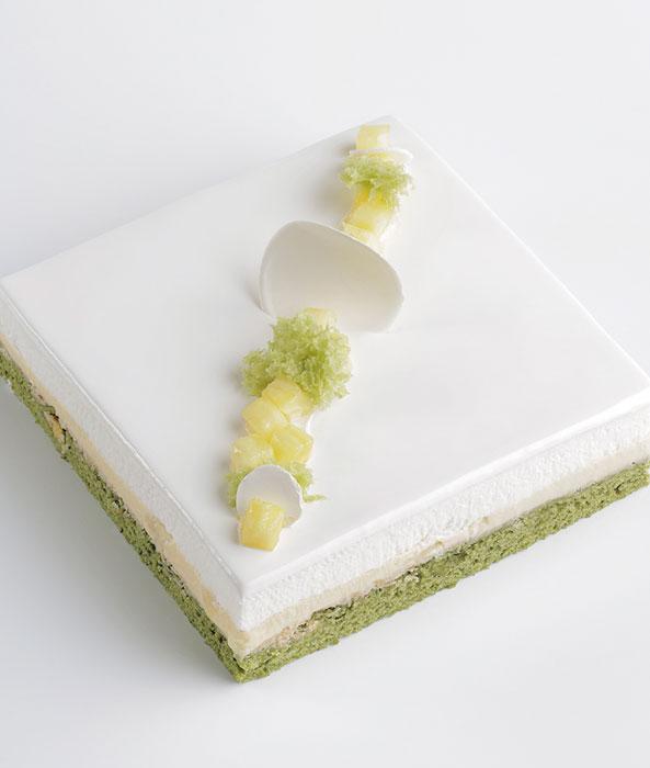 Yogur, piña y té verde de Pastisseria Targarona