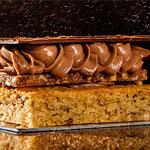 milhojas chocolate Pastelería Busto