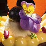 pastel individual floral de Pastelería Busto