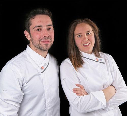 Adrián Ruiz y Saray Ruiz