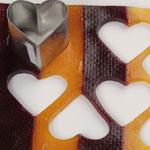 moldes de corazones de gominola