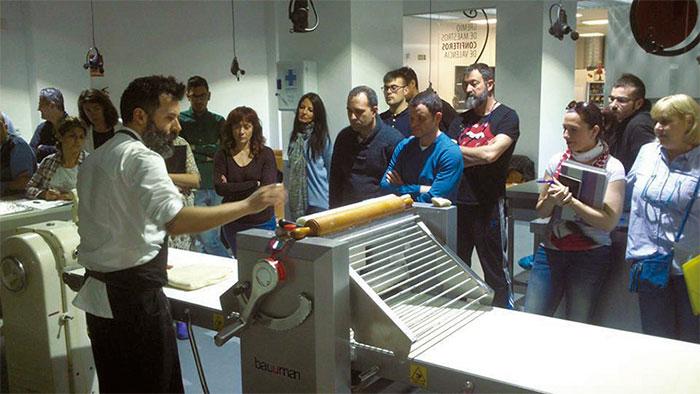 Daniel Álvarez en Escuela Pastelería Valencia