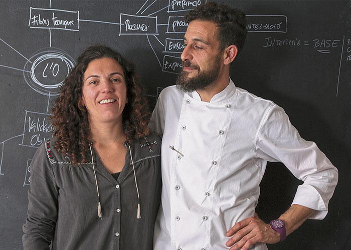 María Vidal y Oriol Rossell