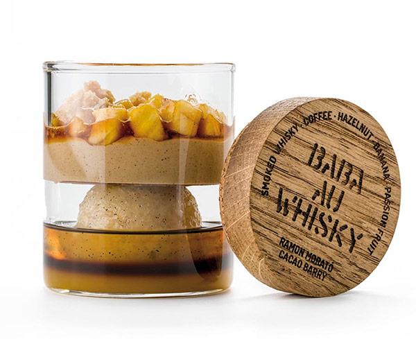 babá whisky abierta
