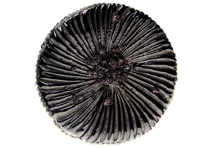 Galette de Rois de sésamo negro de Cédric Grolet