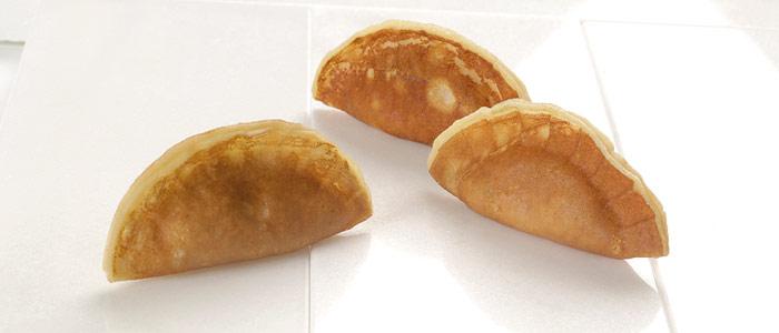 Empanadillas de masa crèpe
