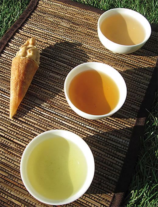 Maridaje té con pasta de té de Abraham Balaguer